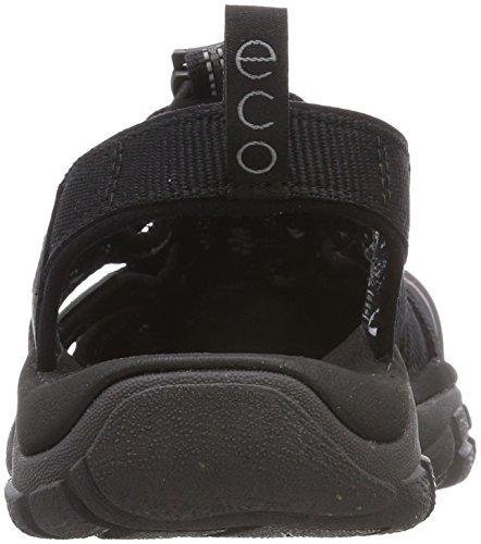 Keen Newport Eco, Sandali da Arrampicata Uomo Nero (Black/Magnet Black/Magnet)