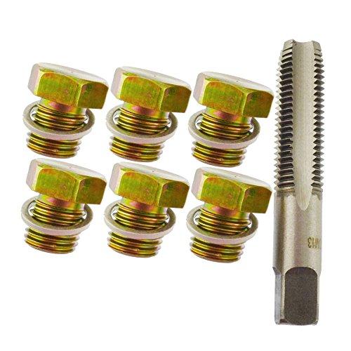 Sump Plug/Oil Drain Repair/Rethreader Kit M12 - M13 Thread AN044 ()