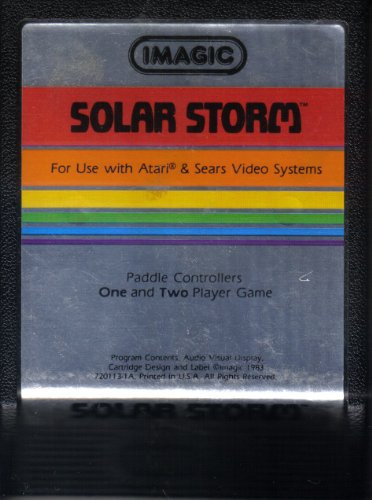 Solar Storm video game for Atari 2600 and Sears Video Game S