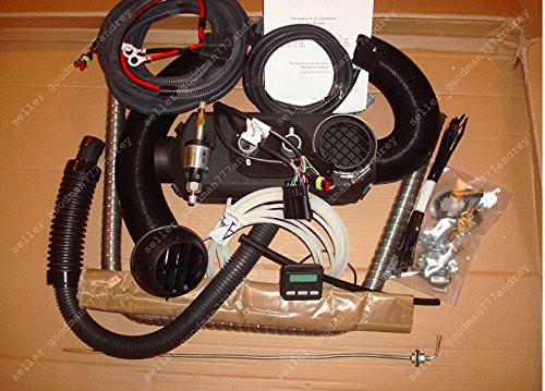Diesel air heater . Planar 2d-12 . 2kW ( 7,000 BTU/hr). 12 volt . Full kit+Repair kit ( same as Webasto , Airtronic , Eberspacher )