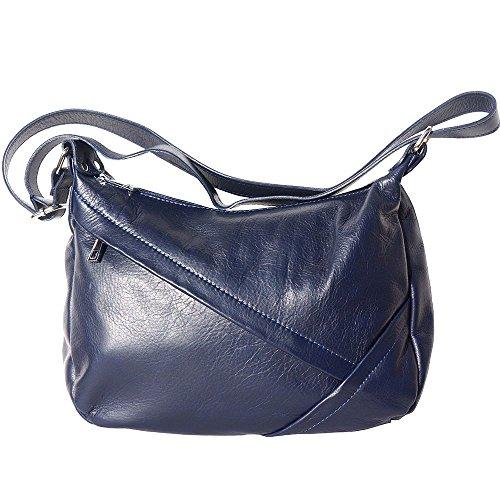 3014 Adjustable Moon Shoulder Strap Navy Bag Half Blue With qYAzwUU