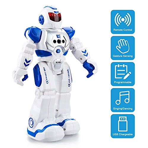 Wonwo Robot Toy For Kids Smart Robot Kit With Remote Control