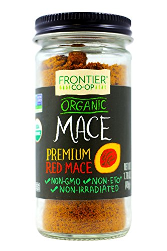 Frontier Nutmeg Ground (Frontier Natural Products Mace, Og, Ground, 1.76-Ounce)