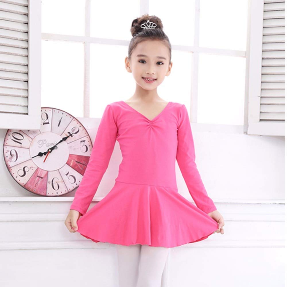 LoLa Ling New Hot Girls s Ballet Dance Dress Lycra Cotton Open Crotch Vestido Classical Tutu Ballet Leotards for ren