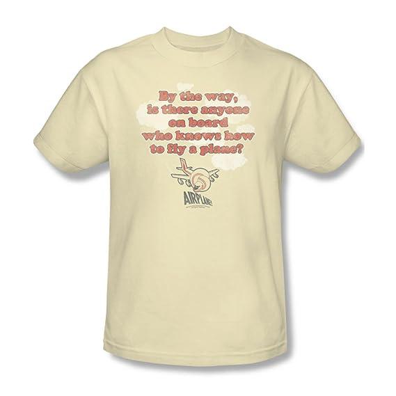 Dans La De Mouche Hommes Airplane CrèmeAmazon Shirt T Des 7gYfyb6