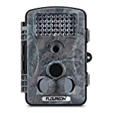 Floureon 1080P HD 12MP Spring Hunting Scouting Trail Waterproof Wildlife Record Video Camera Kamera Game Security PIR LED Night
