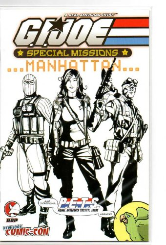(GI Joe Special Missions Manhattan NYCC New York Comic-Con Exclusive Variant Cover (Limited to 500 copies))