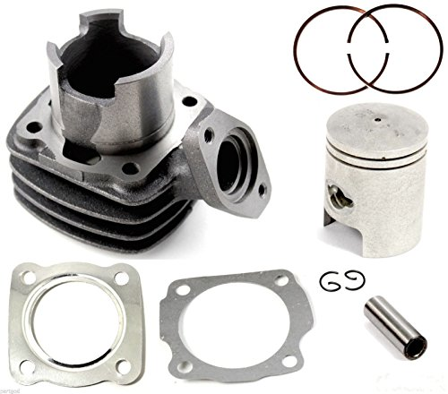 Cylinder Piston Ring Gasket Assembly Kit for 1984-1987 Honda Spree NQ50 Scooter