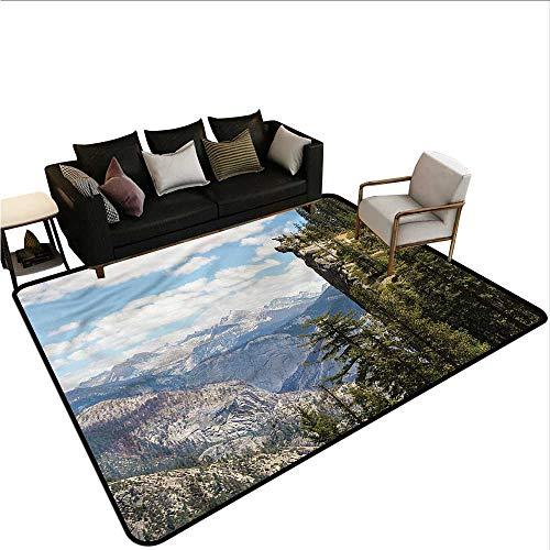 Landscape,Indoor/Outdoor Rubber Mat 80