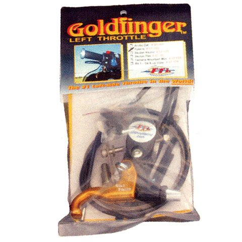 GOLDFINGER LEFT HAND THROTTLE KIT POLARIS, Manufacturer: Full Throttle, Manufacturer Part Number: 007-1022-AD, Stock Photo - Actual parts may vary.