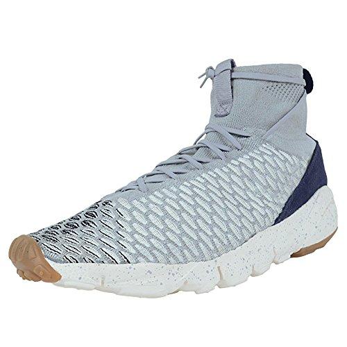 Air Footscape Magista Flyknit Mens Basketball Shoes Running shoes Wolf Grey/Black-Sail-Dark Obsidian 8 D(M) US=41EU ()