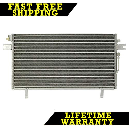 (AC A/C CONDENSER FOR INFINITI NISSAN FITS QX4 PATHFINDER 3.3 3.5 6 CYL)
