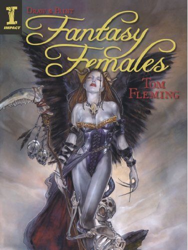 Draw & Paint Fantasy Females