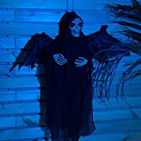 On'h Halloween Skeleton Ghost Sound Control Creepy Scary Deals