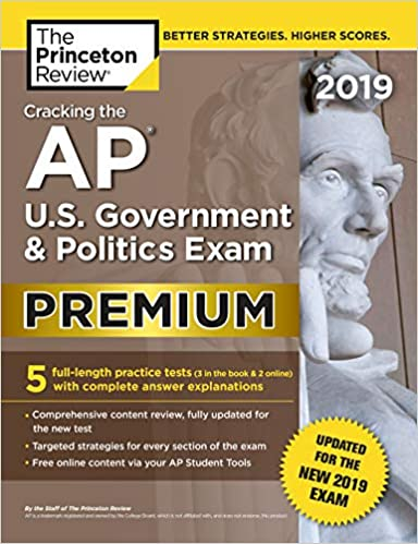 Cracking The AP U S Government Politics Exam 2019
