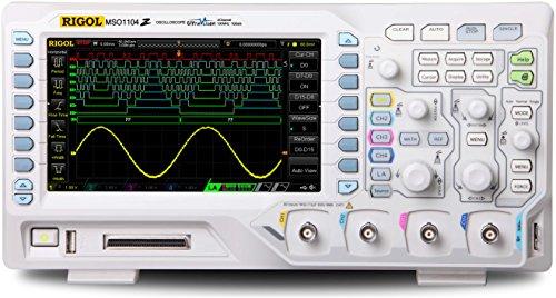 Rigol MSO1104Z-S - Channels: 4, Bandwidth: 100 Mhz by Rigol