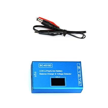 BC-4S15D Batería Lipo de Litio Detector de Voltaje del ...