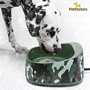 3. PetFactors Thermal Water Bowl, 1 gallon