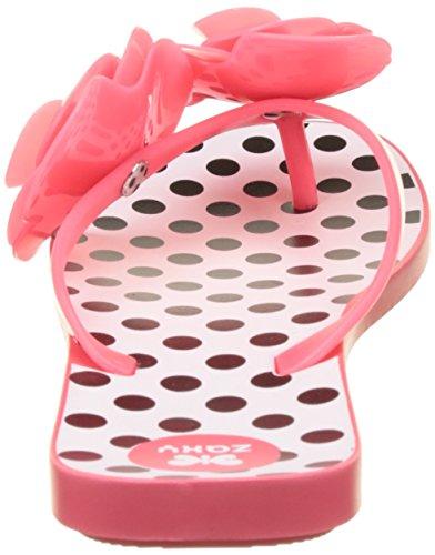 Zaxy Fresh New Garden Tong Fem - Sandalias de dedo Mujer Rose (Pink)