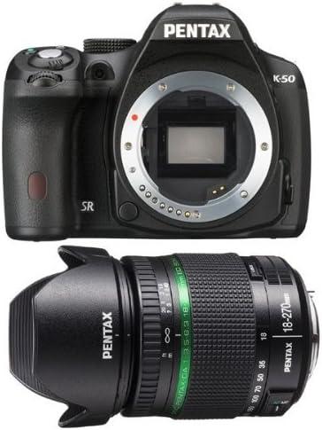 Pentax K50 Noir 18 270mm F 3 5 6 3 Ed Sdm Camera Photo