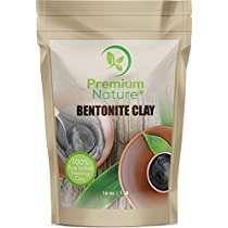 Indian Healing Bentonite Clay Mask - Facial Mask Acne Scar Removal Treatment - Hair & Face Masks for Natural Deep Pore Cleansing - Detox Clay Powder 16 oz 100% Natural by PremiumNature