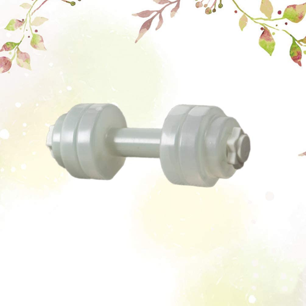 Milisten Water Dumbbells Water Filled Dumbbells Water Fitness Exercises Equipment Hand Bar for Sports Workout Weightlifting Pink