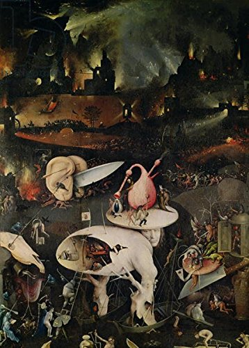 The Garden of Earthly Delights, Hell, right wing of triptych