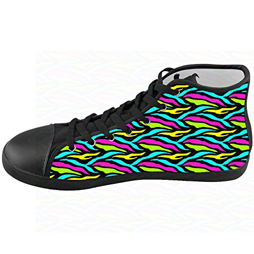 Le Scarpe Di Custom Canvas Scarpe Kids Zebra Shoes Stampa WxAWZzgYqw