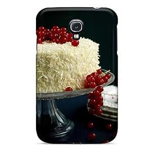 Galaxy S4 SPyAEaz7073khYbu Red Current Cake Tpu Silicone Gel Case Cover. Fits Galaxy S4