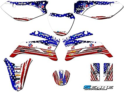 2008-2020 TTR 110 Senge Graphics Compatible with Yamaha Merica CUSTOM Complete kit