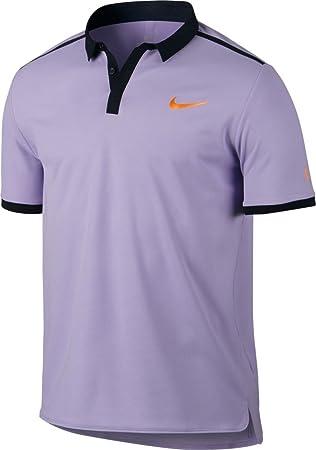 9c1b2d70 Nike Advantage Men's Tennis Polo - Roger Federer, purple: Amazon.co ...