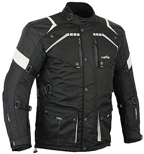 LOVO Chaqueta 3/4 para moto (Hombre) (S)