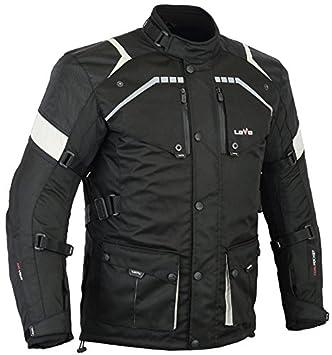 LOVO Chaqueta 3 4 para moto (Hombre) (L)  Amazon.es  Coche y moto 508d767cf384b