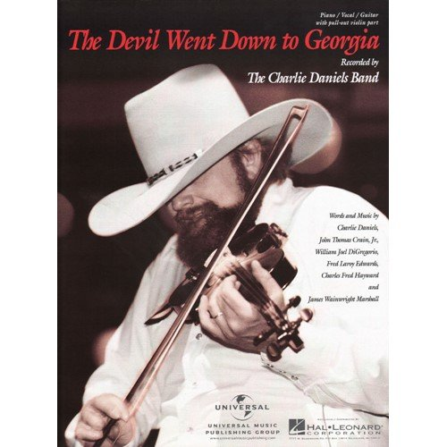 Charlie Daniels Band - Devil Went Down to Georgia for Piano, Vocal and Guitar with Violin Part ()