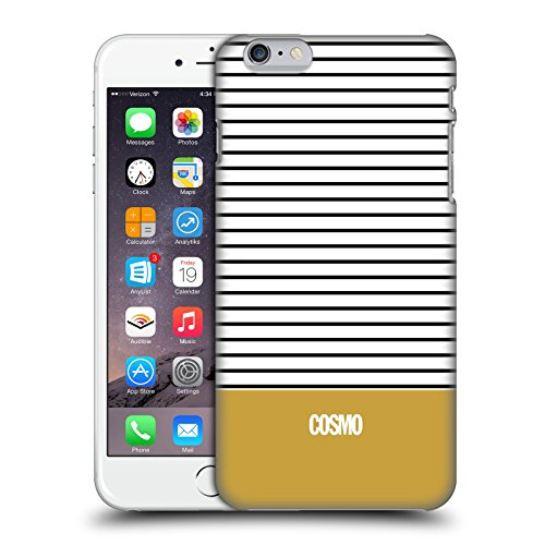 Official Cosmopolitan Gold 1 Stripes Collection Hard Back Case for Apple iPhone 6 Plus / 6s Plus