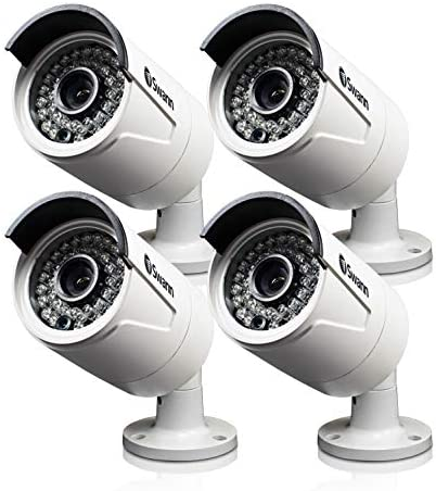 NHD-818-4MP Super HD Day Night Security Camera – Night Vision 100ft 30m – 4 Pack Bundle