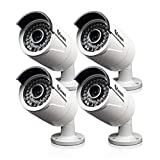 Swann New SRNHD-818WB4-US 4MP HD Bullet Security Camera Night Vision 4 PACK Review