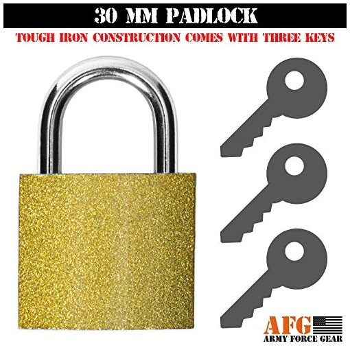 50 Cal Army Force Gear Ammo Can Locking Hardware Kit 40 Mm Ammunition Cans One Size
