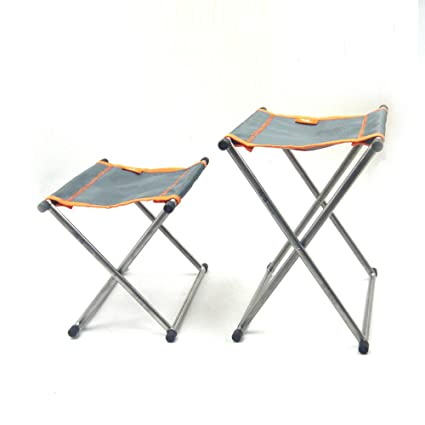 Amazon.com: TiTo - Taburete plegable de titanio para camping ...