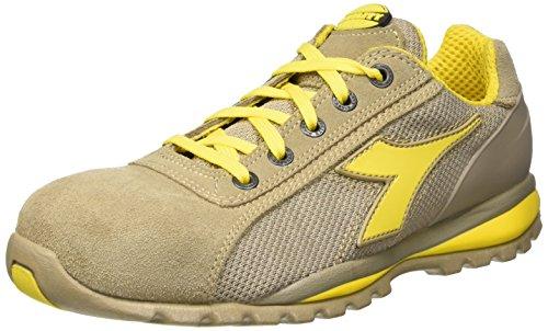 Diadora Glove II Text S1p HRO, Chaussures de Travail Mixte Adulte Gris (Grigio Roccia Lunare)
