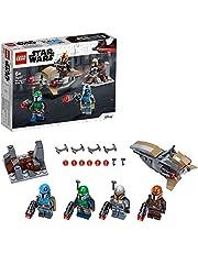 LEGO 75267 Star Wars Mandalorian Battle Pack Set met 4 Poppetjes, Speeder Bike en Minifort voor Kinderen van 6 Jaar en Ouder