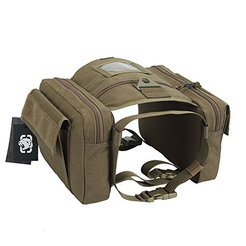 OneTigris Dog Saddlebag Tactical