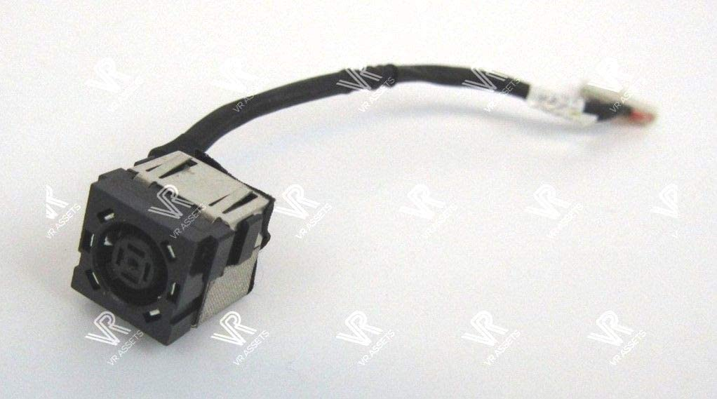 DBParts DC Power Jack Cable For Dell Inspiron 15-3541 15-3542 15-3543 15-3878 P40F, Vostro 14 2421, P/N: J5HM8 0J5HM8 450.00G03.0001 450.00G03.0021 KF5K5 0KF5K5 B450.00H05.0001 450.00H05.0021 JRHPG