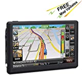 GPS Navigation for Car, 7 inch 8GB GPS Navigator Touchscreen Voice Turn-by-Turn Instruction, Portable Sat-Nav Free Lifetime Map Update … For Sale
