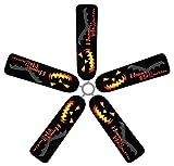 Fan Blade Designs Jack O' Lantern Ceiling Fan Blade Covers