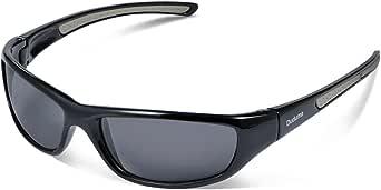 Duduma Tr8116 Polarized Sports Sunglasses for Men Women Baseball Cycling Golf Fishing