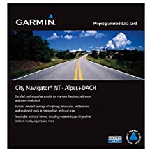 Garmin City Navigator 2012 Germany/Austria/Switzerland/Liechtenstein/Northern Italy/Eastern FranceMap micro SD Card