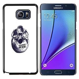 YiPhone /// Prima de resorte delgada de la cubierta del caso de Shell Armor - Helado lindo Amigos - Samsung Galaxy Note 5 5th N9200