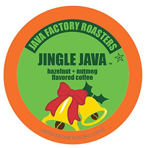 Java Factory Holiday Seasonal Single Cup Coffee, Jingle Java, 40 Count