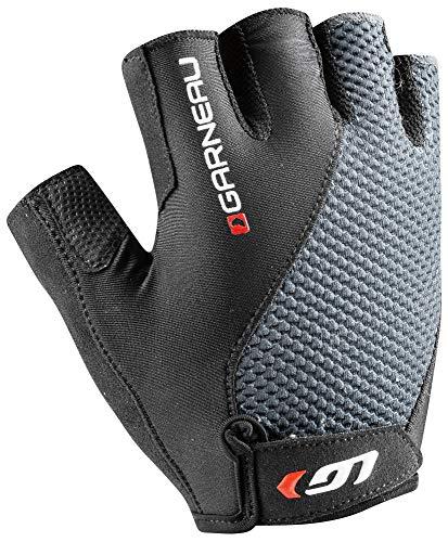 Louis Garneau Men's Air Gel + Bike Gloves, Iron Gray, ()